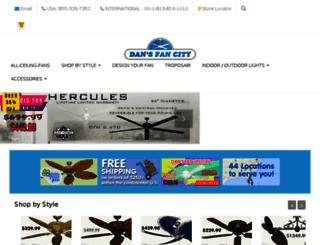 shop.dansceilingfans.com screenshot