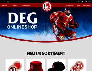 shop.deg-eishockey.de screenshot