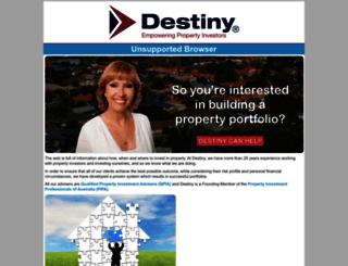 shop.destiny.com.au screenshot