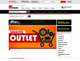 shop.detalita.lt screenshot