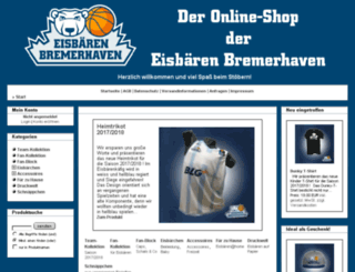 shop.dieeisbaeren.de screenshot