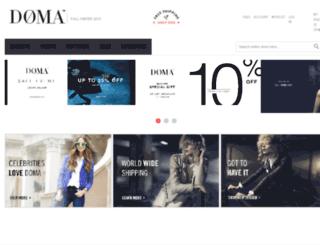 shop.doma-leather.com screenshot