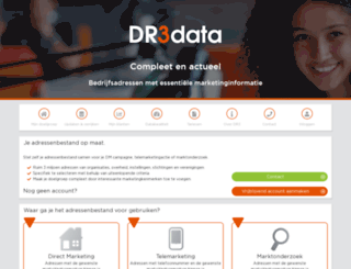 shop.dr3data.nl screenshot