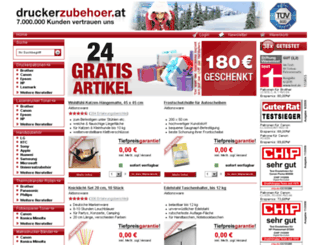 shop.druckerzubehoer.at screenshot