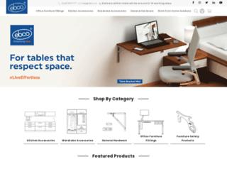 shop.ebco.in screenshot