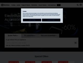 shop.electrolux.co.uk screenshot