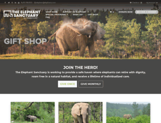 shop.elephants.com screenshot