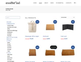 shop.essent-ial.com screenshot
