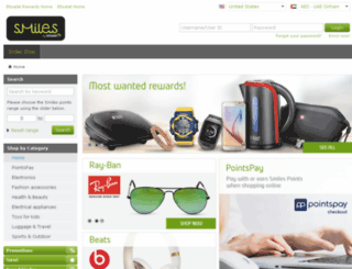 shop.etisalatrewards.ae screenshot