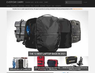 shop.everydaycarry.com screenshot