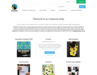 shop.fairtrade.org.uk screenshot