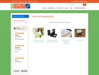 shop.familyhospitality.com screenshot