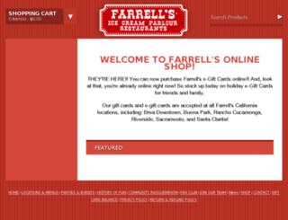 shop.farrellsusa.com screenshot