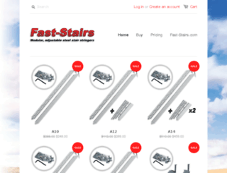 shop.fast-stairs.com screenshot