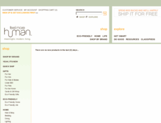 shop.feelmorehuman.com screenshot