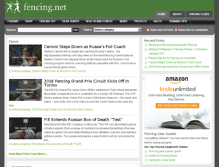 shop.fencing.net screenshot