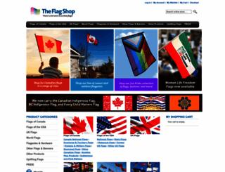 shop.flagshop.com screenshot