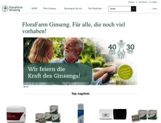 shop.florafarm.de screenshot