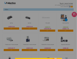 shop.foliactive.com screenshot