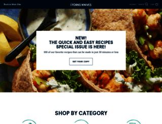 shop.forksoverknives.com screenshot