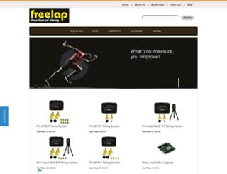 shop.freelapusa.com screenshot