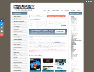 shop.freetemplatedepot.com screenshot