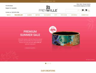 shop.freywille.com screenshot