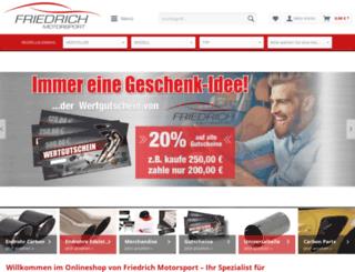 shop.friedrich-motorsport.de screenshot