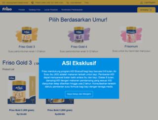shop.friso.co.id screenshot
