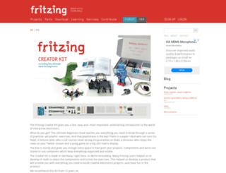 shop.fritzing.org screenshot