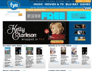 shop.fye.com screenshot