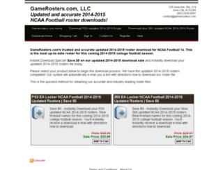 shop.gamerosters.com screenshot