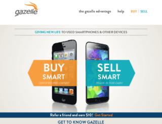 shop.gazelle.com screenshot