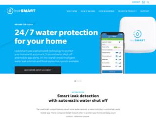 shop.getleaksmart.com screenshot