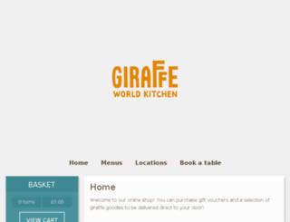 shop.giraffe.net screenshot