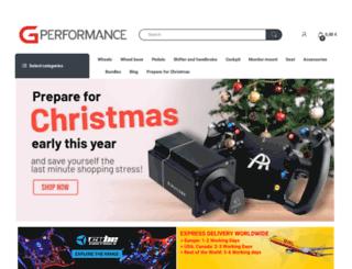 shop.gperformance.eu screenshot