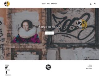 shop.graffitikings.co.uk screenshot