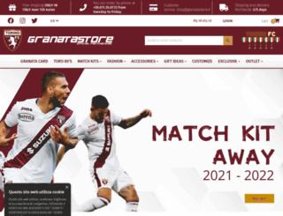 shop.granatastore.it screenshot