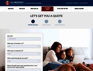 shop.guardsmanfurniturerepair.com screenshot