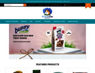 shop.guineapigsaustralia.com.au screenshot