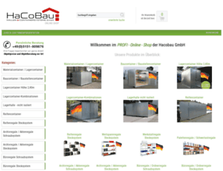 shop.hacobau.de screenshot