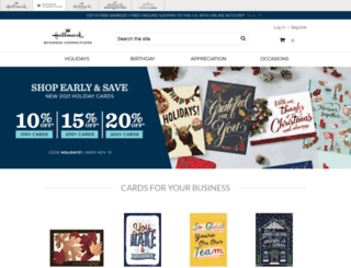 shop.hallmarkbusinessconnections.com screenshot