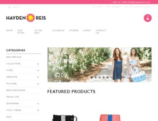 shop.haydenreis.com screenshot