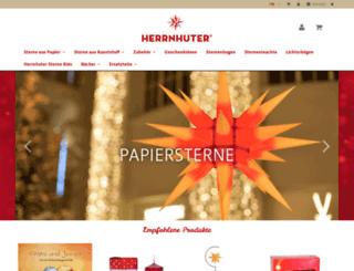 shop.herrnhuter-sterne.de screenshot