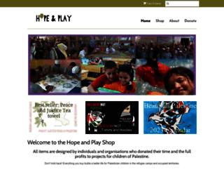 shop.hopeandplay.org screenshot