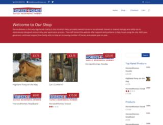 shop.horses4homes.net screenshot
