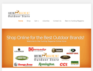 shop.huntingmagazine.net screenshot