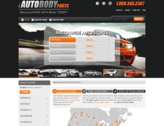 shop.iautobodyparts.com screenshot
