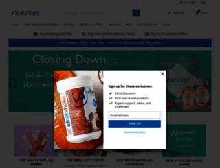 shop.idealshape.com screenshot