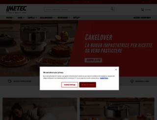 shop.imetec.it screenshot